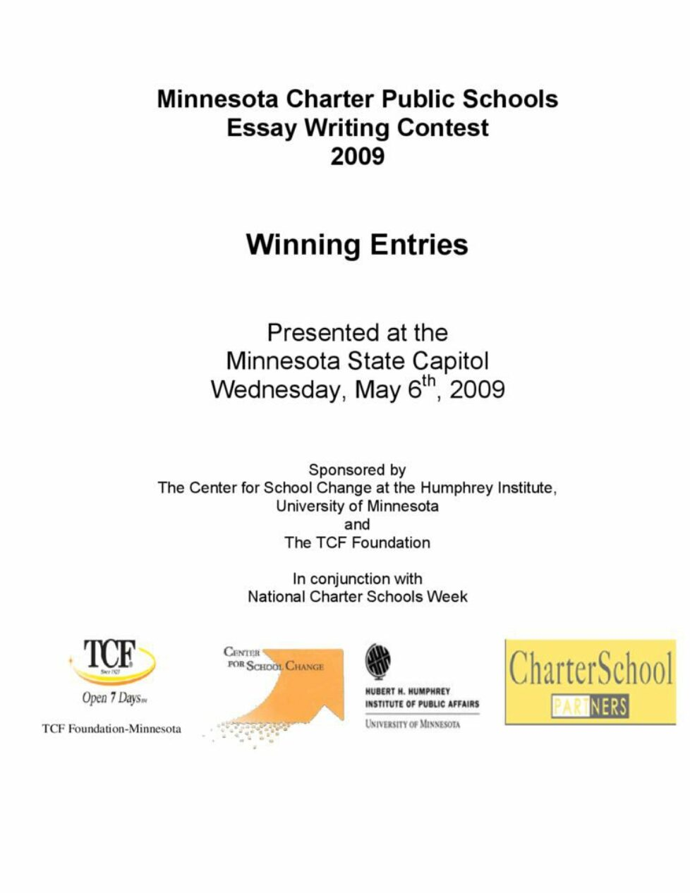 thumbnail of 2009-winning-essays-booklet