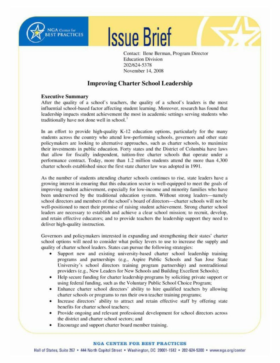 thumbnail of issuebrief-improving-charter-school-leadership