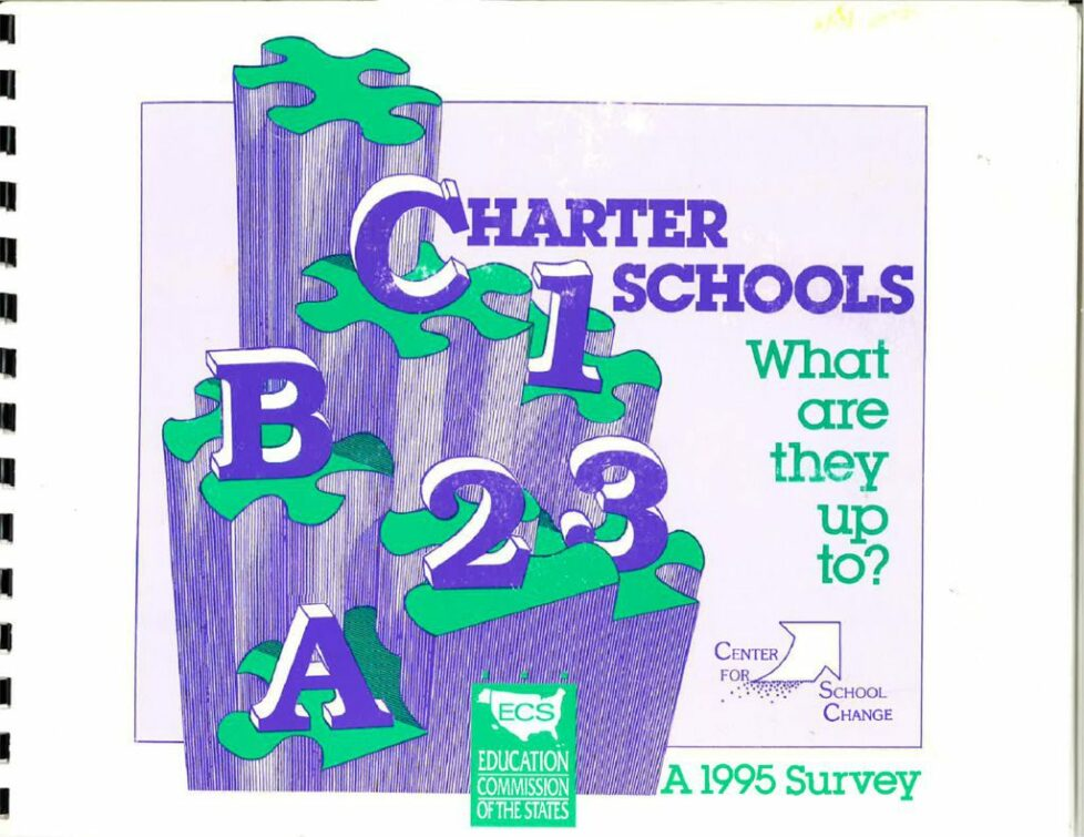 thumbnail of Charter Schools-What are they up to