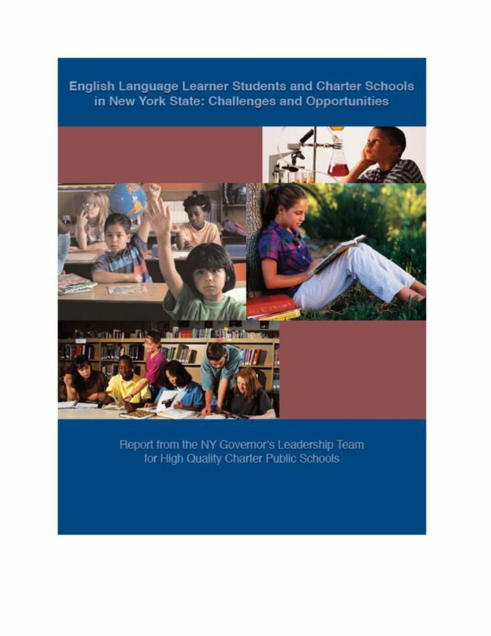 thumbnail of English Language Learner Students and Charter Schools in New York State: Challenges and Opportunities