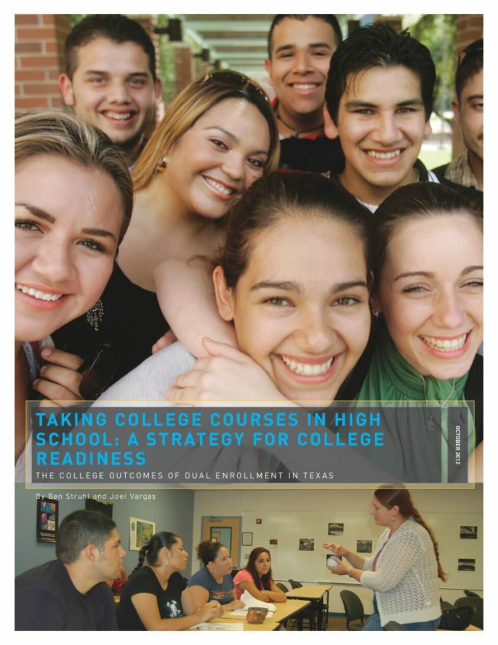 thumbnail of Taking College Courses in High School: A Strategy for College Readiness (The College Outcomes of Dual Enrollment in Texas)