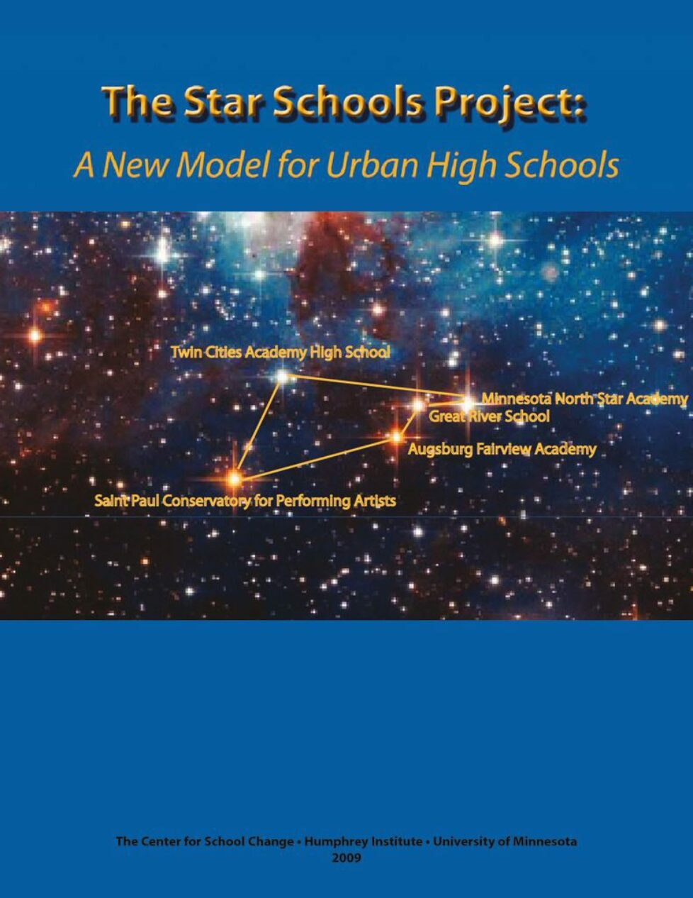 thumbnail of The Star Schools Project: A New Model for Urban High Schools