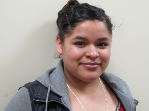 Jennifer Reyes Gomez, teen mother and student at St. Paul's AGAPE High School