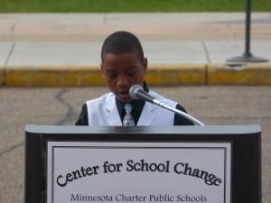 Javon Henry, grade 6.  College Prep Elementary