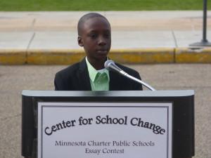 Ibrahima Diagne, grade 5. College Prep Elementary