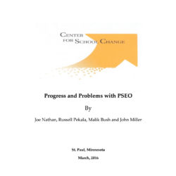 NEW REPORT – Progress and Problems with PSEO