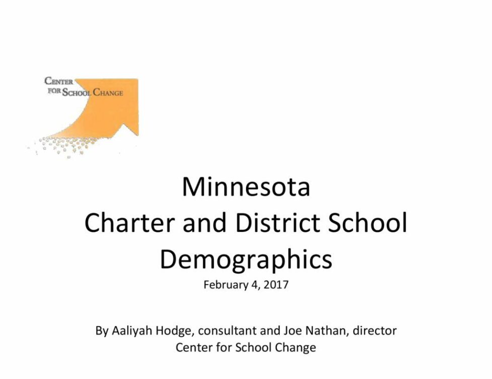 thumbnail of Mn Charter and District School Demographics 2.4.17