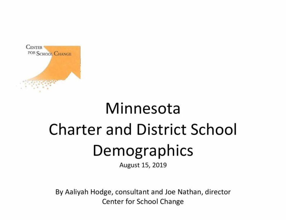 thumbnail of Charter and District School Demographics 8.12.19